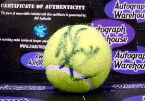 Tim Henman autographed Tennis Ball - Autographed Tennis Balls by Sports Memorabilia. $85.00. Tim Henman signed Tennis Ball. Item comes fully certified with a tamper-evident, serialized hologram and certificate of authenticity.