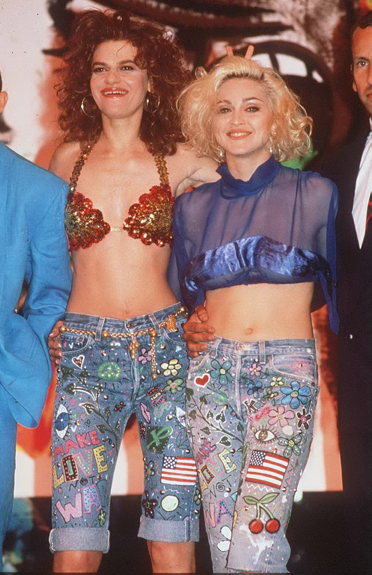 1989...The year when Madonna & Sandra Bernhard started showing up everywhere together, dressing alike, kissing in public and insinuating they were lovers.