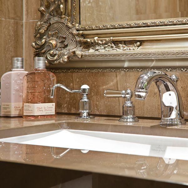 Perrin & Rowe zeepdispenser onderbouw, Traditional collection