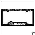 Oakland Raiders License Plate Frame