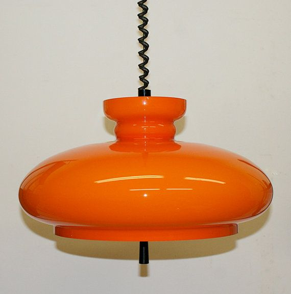 retro lighting. a very nice space age orange glass pendant lamp by aardewerkenzo u20ac13500 retro lightingorange lighting