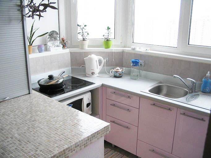 Кухня на балконе или лоджии: варианты оформления дизайна, фо.