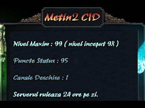 Metin2 CID   Prezentare 2016 - David YT #Ep. 2