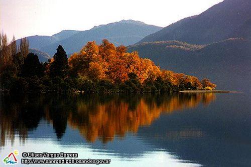 Fall in Quila Quina, San Martin de los Andes, Patagonia Argentina.
