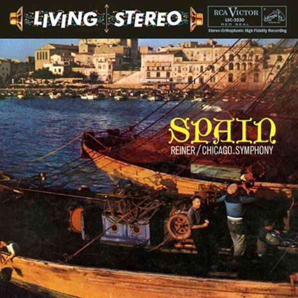 Fritz Reiner - Spain - Reiner - Chicago Symphony Orchestra on Hybrid Multi-Channel/Stereo SACD