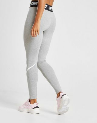 cozy fresh united states exclusive shoes Nike leggings High Waisted Swoosh   Wish list 2019 in 2019 ...