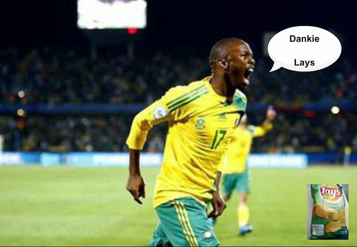 BAFANA BAFANA WIN: Bernard Parker's inspirational 2nd half goal was enough to sink FIFA Soccer World Cup Champions Spain to a 1-0 Defeat. Well done Bafana Bafana Laduuuuuuuuuuuma!!!!