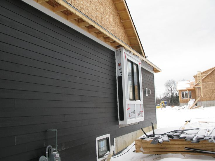 James Hardie Midnight Black Siding Exterior Pinterest