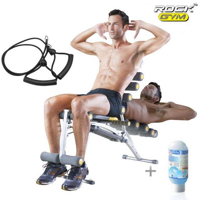 Rock Gym 6in1   Gel Muscle/Amincissant   Bandes Elastiques