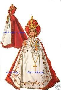 Vestments for the Infant of Prague