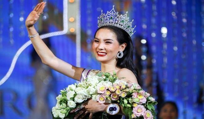 Thai contestant wins largest #transgender pageant...