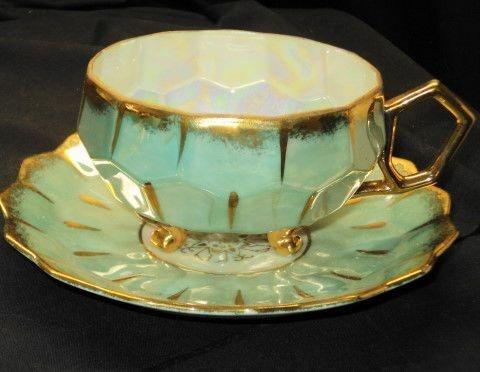 Details About Castle Japan Royal Honeycomb Antique 3