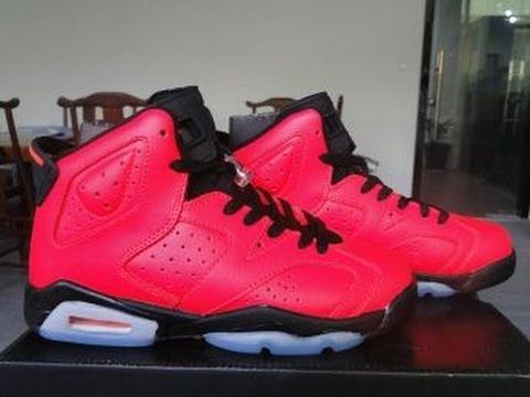 Perfect Air Jordan 6 Retro Toro Infrared 23 women shoes.  www.marsportshop.com