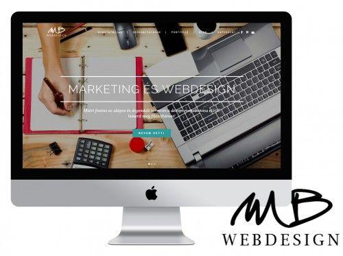 Milák Bernadett végzett webdesigner hallgatónk weboldala | www.mbwebdesign.hu