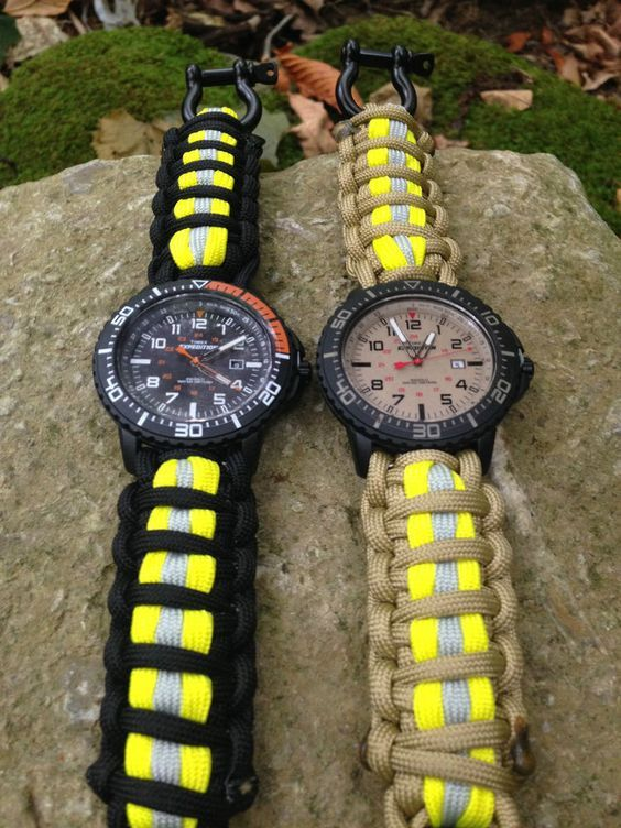 FIREFIGHTER Timex Expedition Paracord 550 Band   Watch  | Shared by LION
