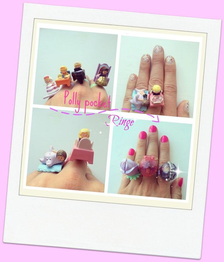 Polly pocket ringe Danish