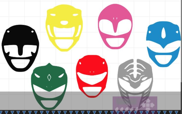 Mighty Morphin Power Rangers Helmet Vinyl Decal Sticker | eBay Motors, Parts & Accessories, Car & Truck Parts | eBay!