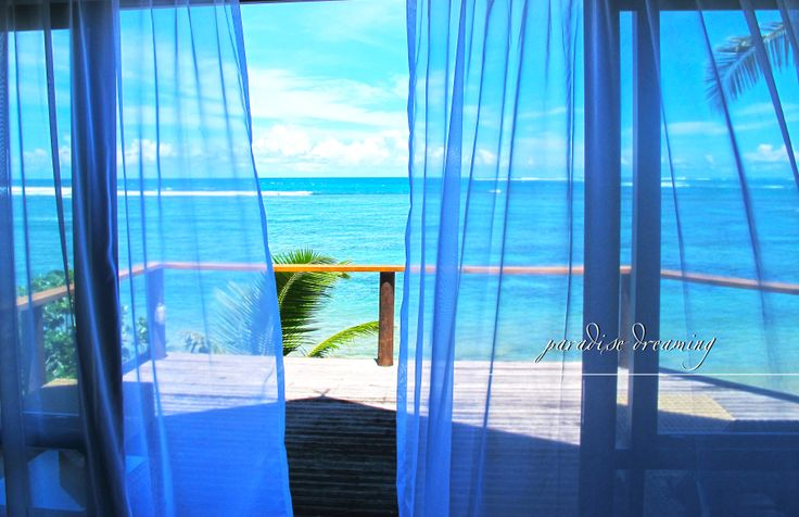 Fancy waking to this view? Sinalei Reef Resort & Spa, Samoa  www.islandescapes.com.au