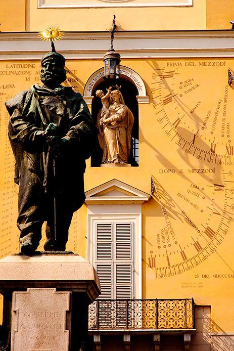 Piazza Garabaldi, Parma, Italy