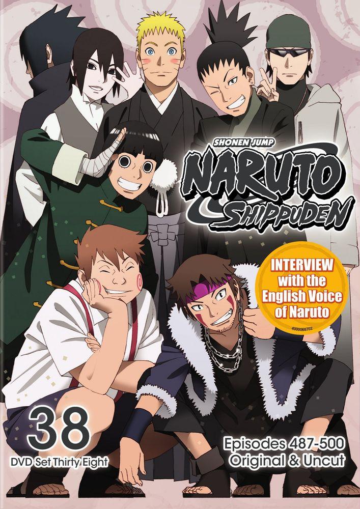 Naruto Shippuden Box Set 38 Dvd Best Buy Anime Dvd Naruto Shippuden Naruto
