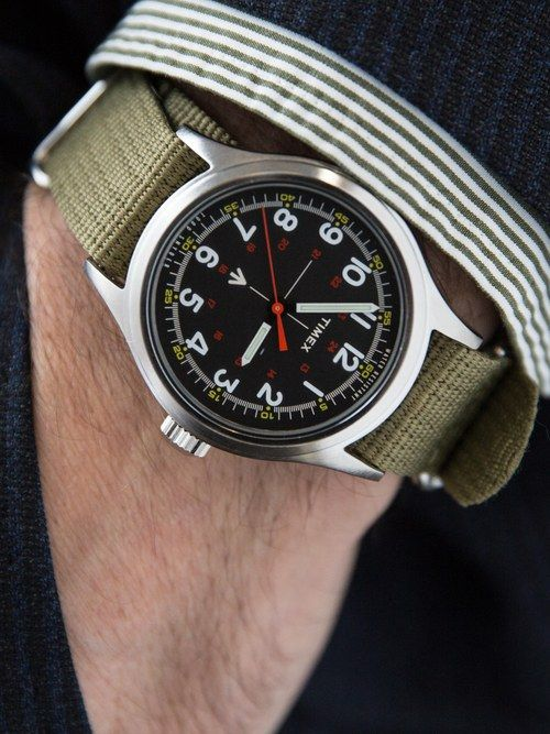 Todd Snyder and Timex's New Military Watch Is The Duo's Best Yet   GQ