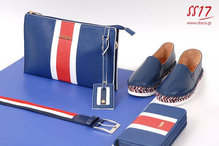 Navy stripes... www.doca.gr