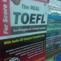 The Real Toefl - Test Of English As A Foreign + Bonus Audio CD Compact | Gaul