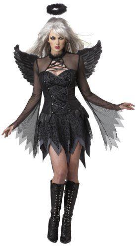 cool California Costumes Fallen Angel Dress Costume