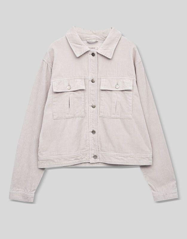 Cordjacke - Mäntel und Jacken - Kleidung - Damen - PULL&BEAR Deutschland