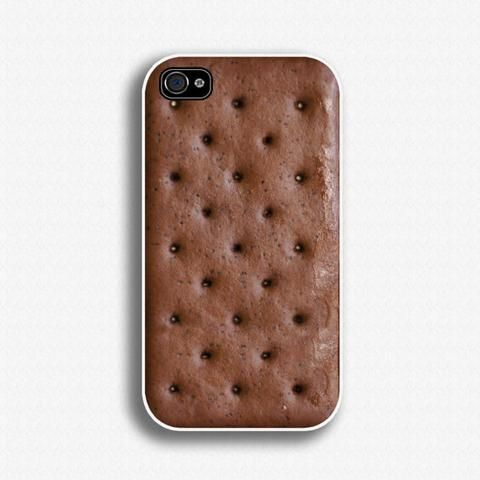Ice Cream Sandwich Iphone Case- looks crazy real!