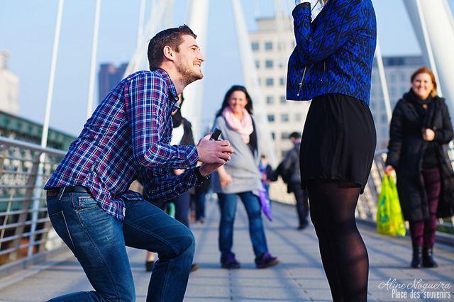 Photographier une demande en mariage!