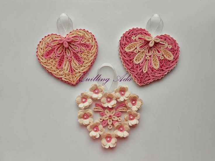 Quilling by ada inimioare my quilling works 2014 for Quilling heart designs
