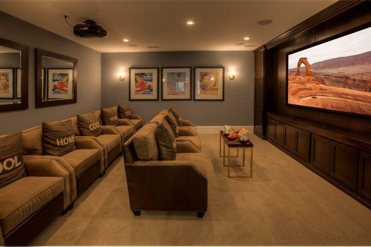 Top 25 Ideas About Media Rooms Ashton Woods On Pinterest