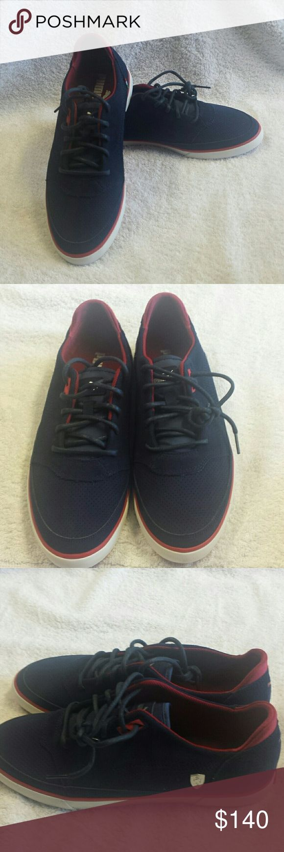 PUMA FERRARI VULCANIZED MEN'S SHOES Product on hand.  Brand new unused ship without the original box Puma Shoes Sneakers