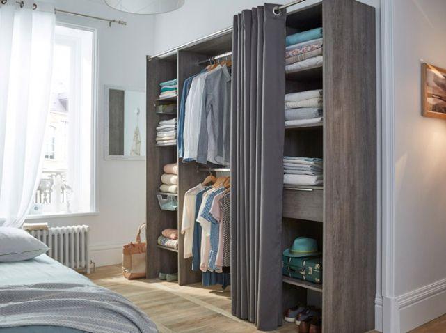 les 25 meilleures id es de la cat gorie penderie pas cher sur pinterest rangement pas cher. Black Bedroom Furniture Sets. Home Design Ideas