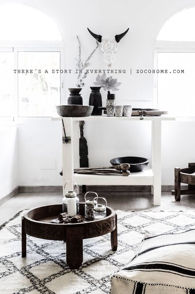 Mix of moroccan ethnic with scandinavian flavor | www.zocohome.com