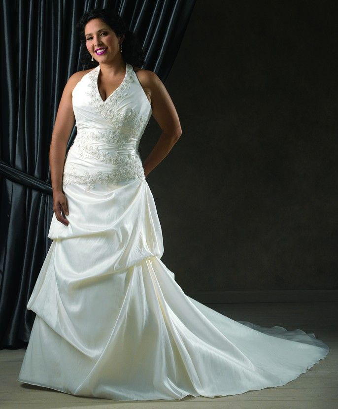 11 best Plus-sized Wedding Gowns images on Pinterest | Wedding ...
