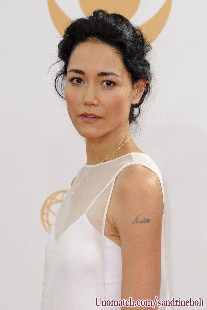 Sandrine Holt is a Canadian model and actress.