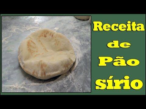 Receita de Pão Sírio - Foto de adenilsonsb.2012