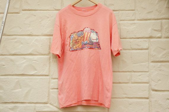 Vintage 90s T-shirt Cowgirl Shirt Ugly Shirt by SycamoreVintage