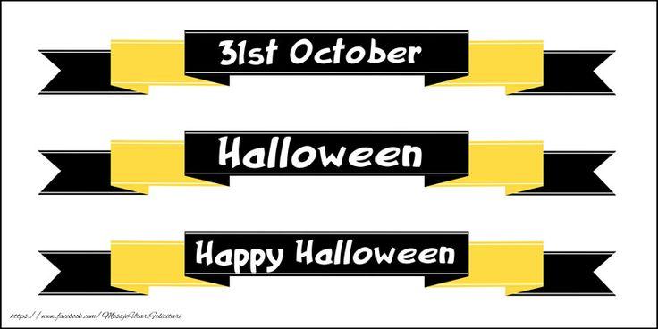 31 October Halloween Happy Halloween!