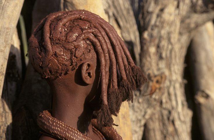 Himba adolescent girl