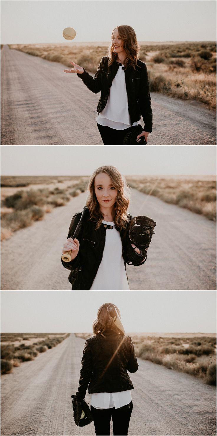 Makayla Madden Photography // Boise Senior Photographer // Idahome // Summer Desert Senior Session // Converse // Senior Outfit Ideas and Inspiration // Portrait Posing // Softball Senior Pictures