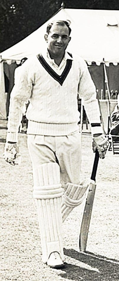 191-Colin Campbell McDonald played in 47 Tests from 1952 to 1961. An opening batsman, he made his debut in the 5th Test against West Indies at Sydney in 1952. He formed a successful partnership with Jim Burke. His career peaked against England in 1958/9 scoring the most runs of any player in Test cricket in the 1959 calendar year. He reached his highest Test score of 170 in the 4th Test against at Adelaide and a second century in the 5th Test in Melbourne. He made 3107 Test runs at 39.32.