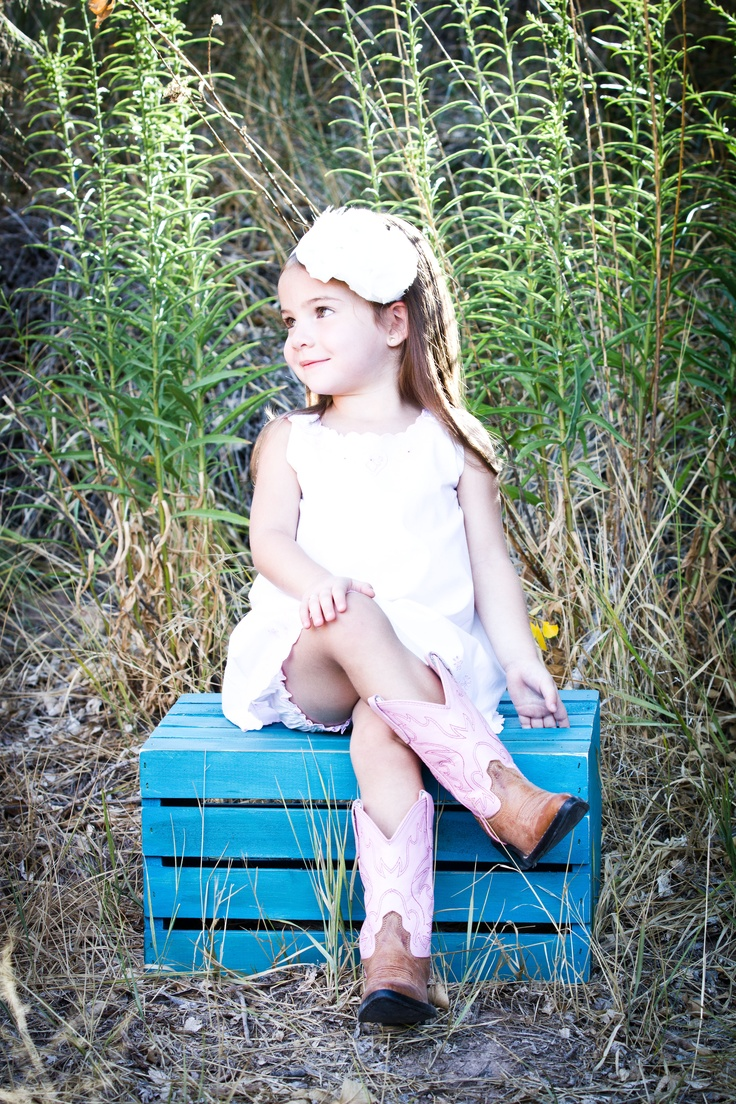 Love this! ! Need to get Kylee some cowgirl boots before her next shoot