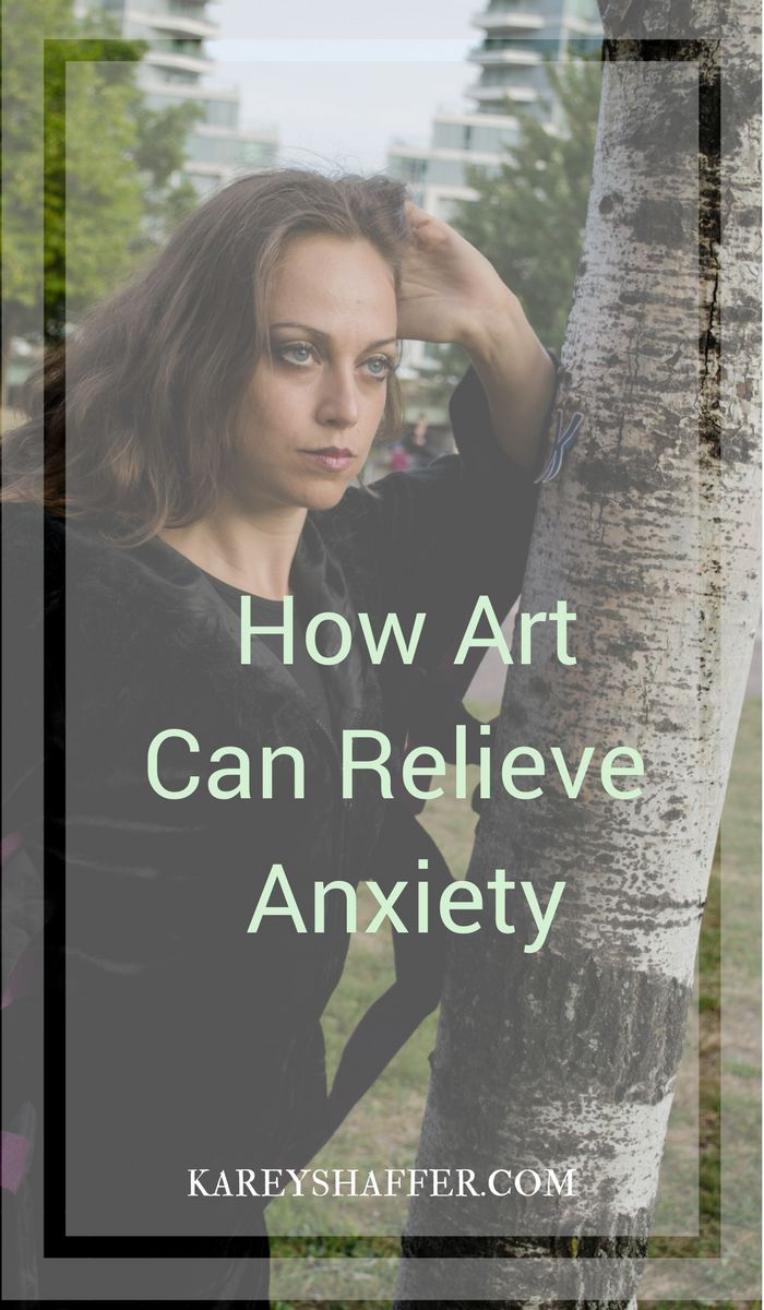 relieve anxiety, overcome anxiety, art, inspiration, mental health,