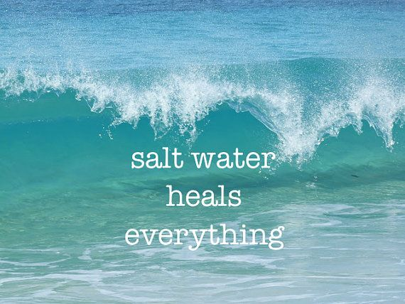 17 Best Salt Water Quotes On Pinterest