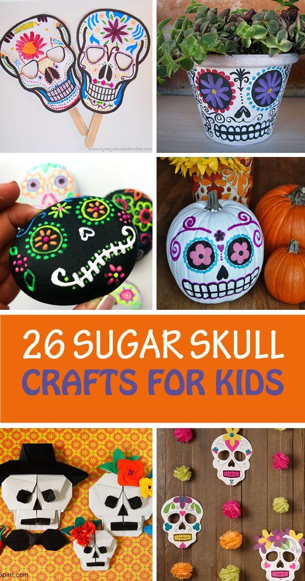 189 best hispanic culture kids crafts images on pinterest for Day of the dead craft supplies