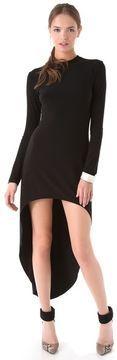 Norma kamali Super High Low Dress on shopstyle.com