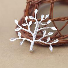 ADB K золото броши ветви деревьев просто свежий Sen Департамент маленьких мужчин и женщин костюм шелковый шарф шаль пряжкой